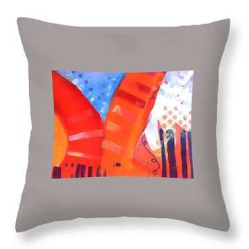 Red Series Throw Pillow