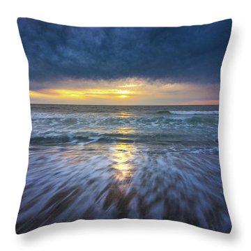 Redondo Beach Sunset Throw Pillow
