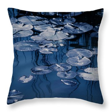 Reeds And Pads 2 Throw Pillow