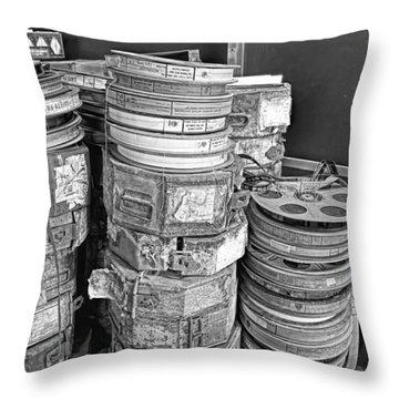 Reels  Throw Pillow