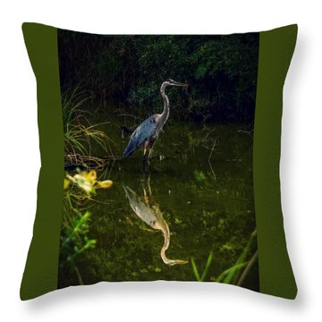Throw Pillow featuring the photograph Reflect. by Kendall McKernon