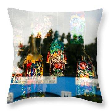 Reflection Lights Throw Pillow