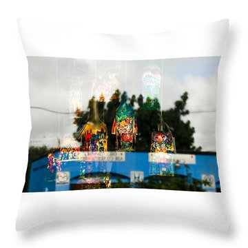 Reflection Lights Throw Pillow