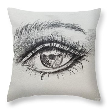 Reflection Of My Spirit Throw Pillow