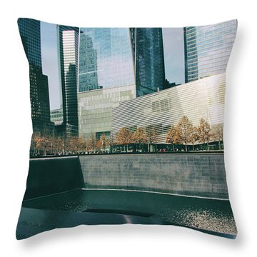 Throw Pillow featuring the photograph Reflections Of Sorrow by Jessica Jenney