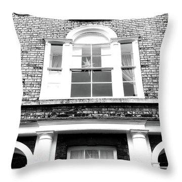 Regency Architecture Detail Throw Pillow