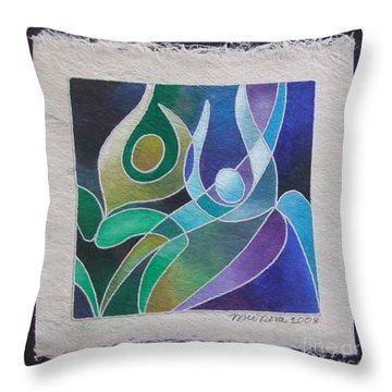 Reki Iv - Dance For Joy Throw Pillow