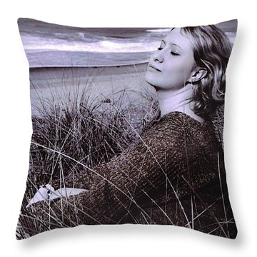 Relax... Throw Pillow