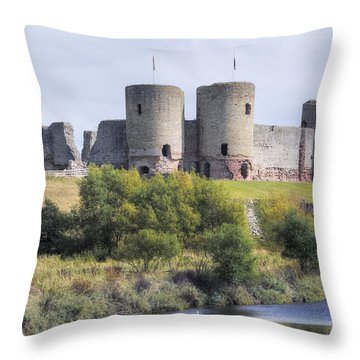 North Wales Throw Pillows