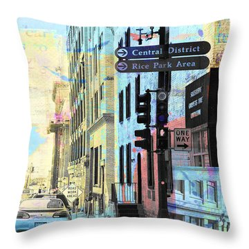Rice Park St. Paul Throw Pillow