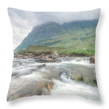 River Coe Throw Pillow by Ray Devlin