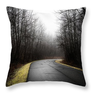 Roads To Nowhere Throw Pillow by Celso Bressan