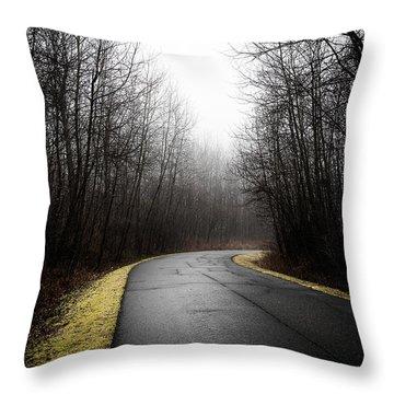 Roads To Nowhere Throw Pillow