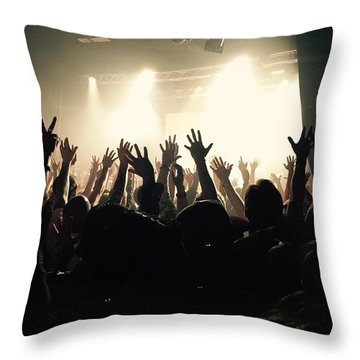 Rock And Roll Throw Pillow by Andre Brands