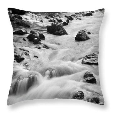 Rocky River Throw Pillow by Svetlana Sewell