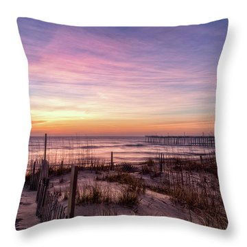 Rodanthe Sunrise Throw Pillow