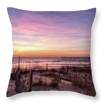 Rodanthe Sunrise Throw Pillow