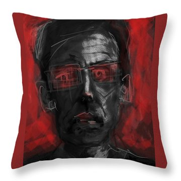 Rose Colored Glasses Throw Pillow