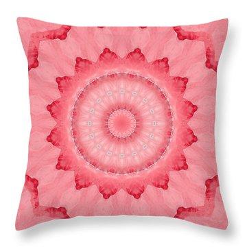 Throw Pillow featuring the digital art Rose by Elizabeth Lock
