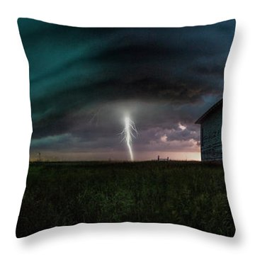 Throw Pillow featuring the photograph Rose Hill  by Aaron J Groen