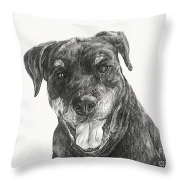 Ruby  Throw Pillow by Meagan  Visser