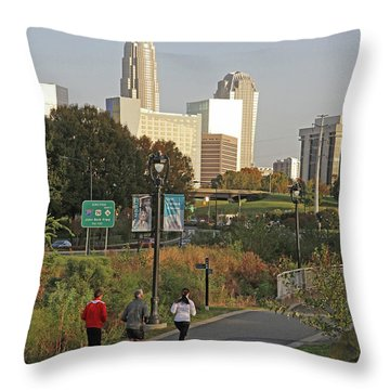 Runable Charlotte Throw Pillow