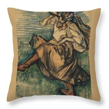 Russian Dancer Throw Pillow