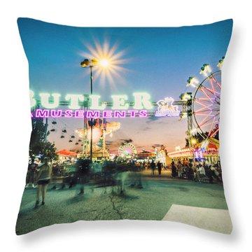 Sacramento State Fair- Throw Pillow