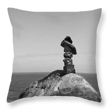 Sacred Spirit Stones Throw Pillow