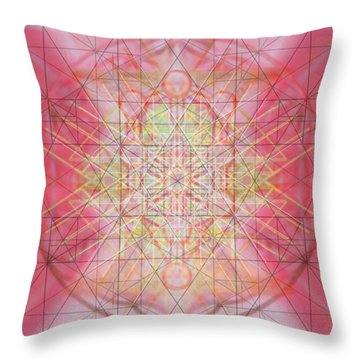 Sacred Symbols Out Of The Void 1b Throw Pillow