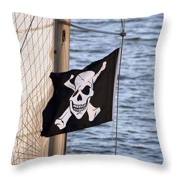 Sail Santa Cruz  Throw Pillow
