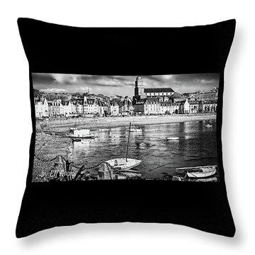 Saint Servan Anse Throw Pillow