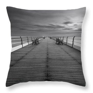 The North Sea Throw Pillows