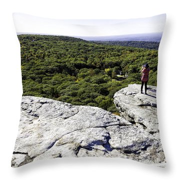 Sams Point Overlook Throw Pillow