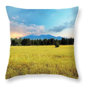 San Francisco Peaks  Throw Pillow