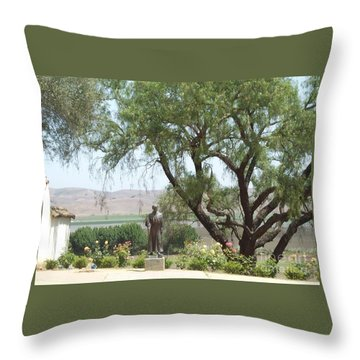 Mission San Juan Throw Pillow