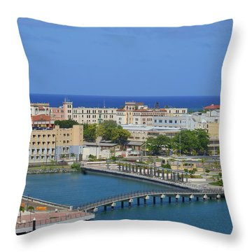 San Juan View Throw Pillow