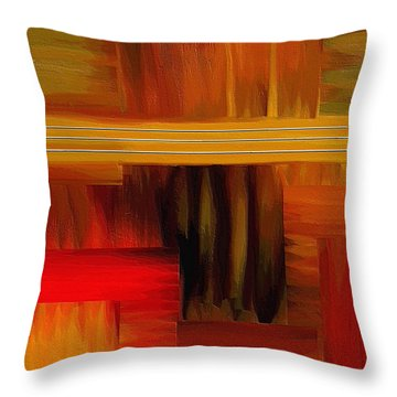 Sanctuary Throw Pillow by Ely Arsha