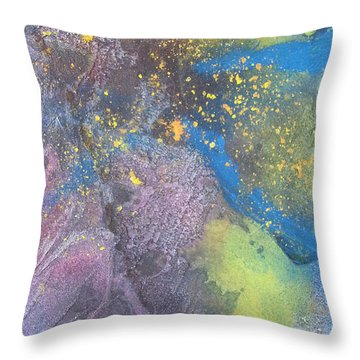 Sand Throw Pillow by Becky Chappell