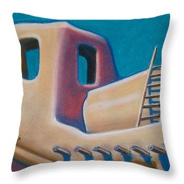 Santa Fe Style Throw Pillow