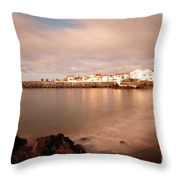 Sao Roque At Sunrise Throw Pillow by Gaspar Avila
