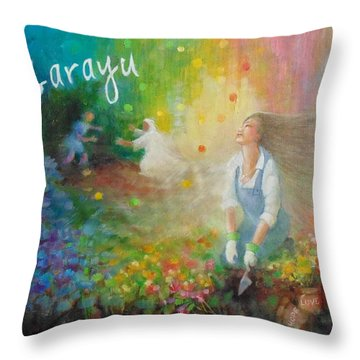 Sarayu Throw Pillow