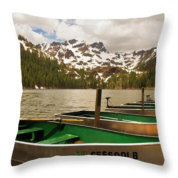 Sardine Lake Throw Pillow