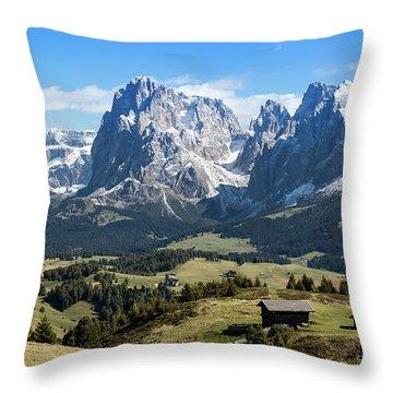 Sasso Lungo And Sasso Piatto Throw Pillow