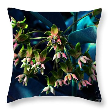 Satin Throw Pillow by Elfriede Fulda