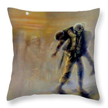 Todd Krasovetz Throw Pillows