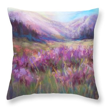 Schofield Morning 2 Throw Pillow