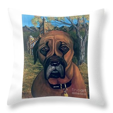 Scyleia Throw Pillow