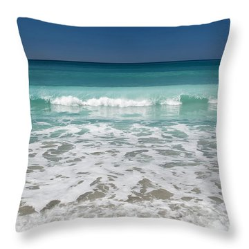 Sea Foam Production Throw Pillow