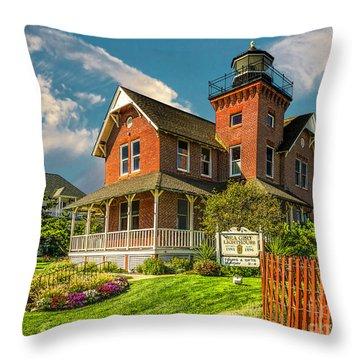 Sea Girt Lighthouse Throw Pillow